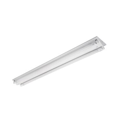 東亞LED T8山型燈座 兩管/4尺(單切,無夜燈)  東亞座/五星級燈管/吸頂燈 (6.7折)