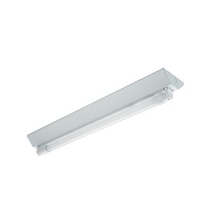 東亞LED T8山型燈座 單管含燈管/4尺(單切,無夜燈)  東亞座/附五星級燈管 (8.5折)