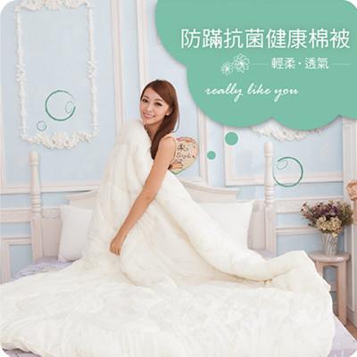 雙人棉被-防螨抗菌健康被.台灣製造【禾馨寢飾】 (4.6折)