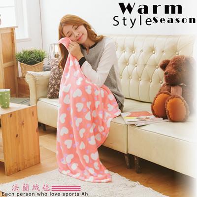 空調毯/多功能法萊絨/保暖毛毯.寵物毯/觸感柔順【伊柔寢飾】 (3折)