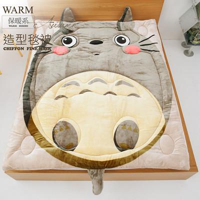 可愛卡通法蘭絨造型被.可當毯子/可當棉被【禾馨寢飾】 (4.2折)