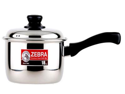斑馬ZEBRA不鏽鋼單把鍋18CM (4.8折)