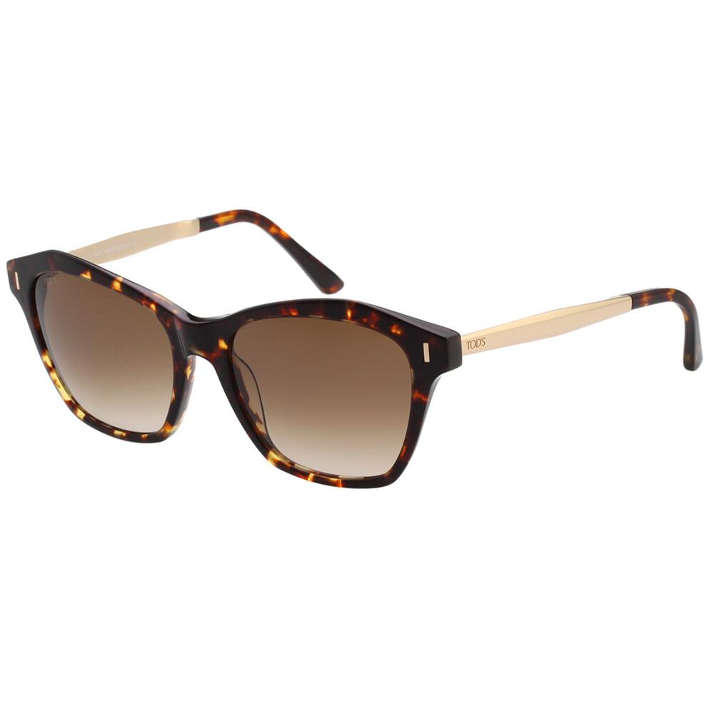 tods 貓眼造型 太陽眼鏡 (琥珀色)