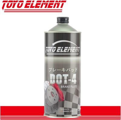 【TKD】TOYO ELEMENT 煞車油 DOT4 圓鐵罐 1L (5.3折)