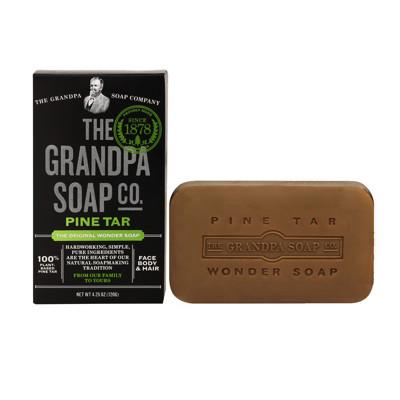 美國百年奇蹟爺爺Grandpa Soap 去味保濕松焦油旅行皂38 克