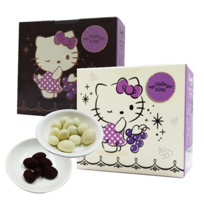 Hello Kitty黑松露葡萄巧克力(3盒裝)/入 (1.3折)