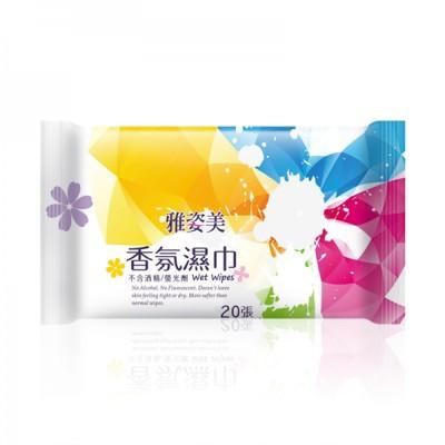 【奈森克林 Naisen Caring】雅姿美純水香氛柔膚濕巾(20抽/包) (5折)