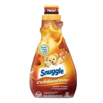 【美國 Snuggle 3倍濃縮】衣物柔軟精-琥珀木+金銀花(50oz/1470ml)*2 (8.8折)
