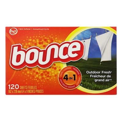 【加拿大 Bounce】防靜電烘衣芳香柔軟片-四合一(120片) (7.9折)