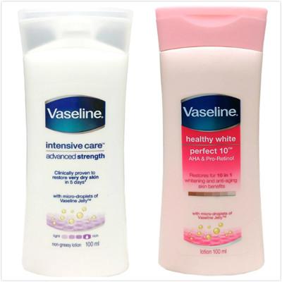 進口Vaseline專業修護身體乳液(100ml)兩款 (6.9折)