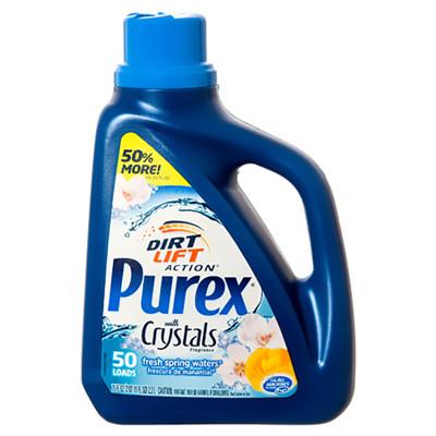 【美國 PUREX】高效能潔淨洗衣膏-清新花草香(75oz/2200ml) (8.6折)