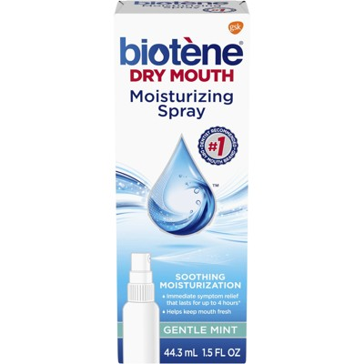 Biotene溫和薄荷保濕口噴霧-口乾症專用(44.3ml)*1 (7.2折)