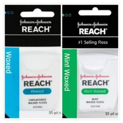 美國REACH麗奇牙線(55碼)普通含蠟/薄荷含蠟兩款選擇*1 (8.3折)