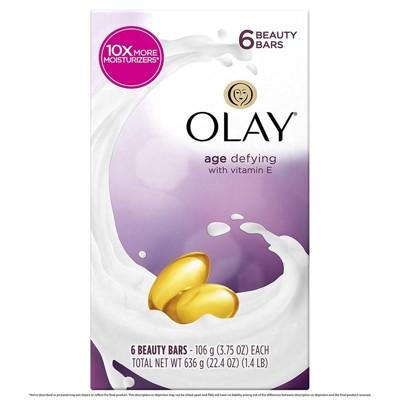 美國Olay歐蕾/乳油木美容皂(3.75oz.*6顆/組)3款選擇 (8.3折)