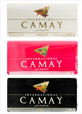 進口CAMAY香皂(3款選擇)125g (6.3折)