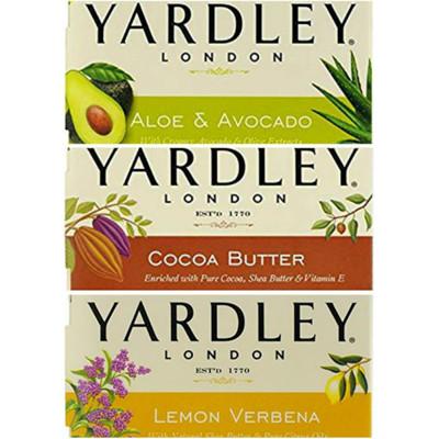 美國進口YARDLEY雅禮檸檬馬鞭草/蘆薈+鱷梨/可可脂香皂(120g) (7.8折)