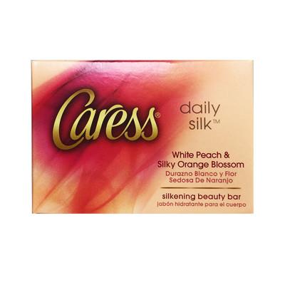 【美國 Caress 卡瑞絲】香水潤膚香皂-白桃香(4oz/113g) (4.7折)