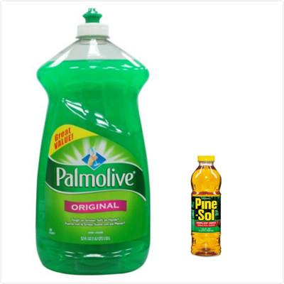 【美國 Palmolive】棕欖濃縮洗碗精(52oz)+Pine sol萬用松香清潔液(24oz) (6.5折)