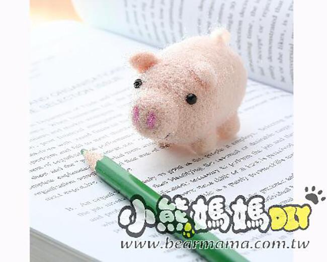 r40019 小豬仔-羊毛氈材料包 小熊媽媽