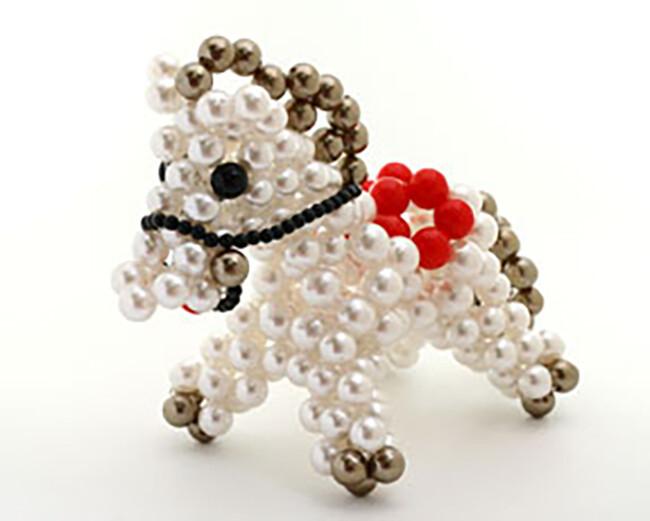 o1-64 可愛馬 串珠材料包 小熊媽媽