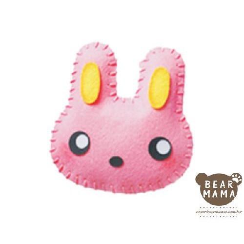 f1-01 打洞香包-兔子  材料包 小熊媽媽