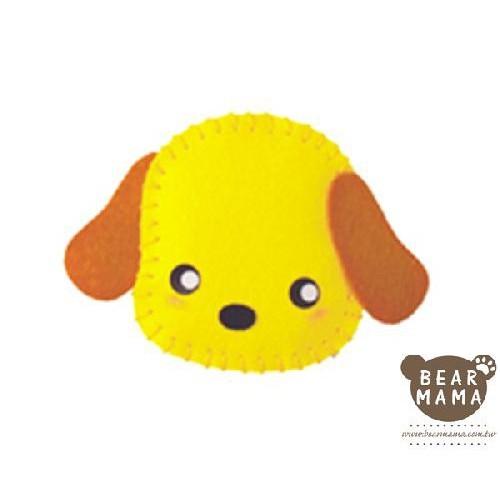 f1-01 打洞香包-小狗  材料包 小熊媽媽