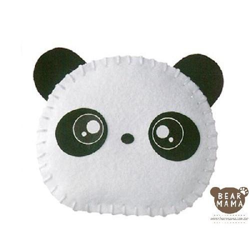 f1-01 打洞香包-熊貓  材料包 小熊媽媽
