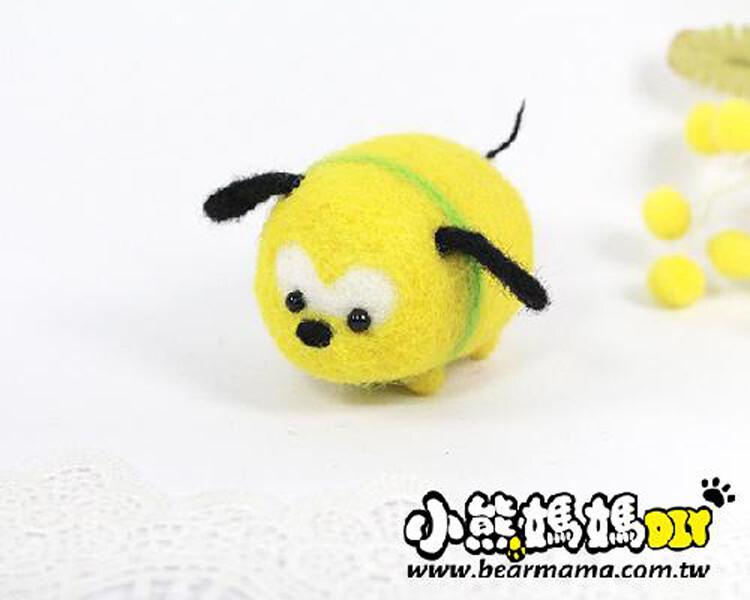 r01007 小熊媽媽 迪士尼人物 1入  羊毛氈材料包 布魯托