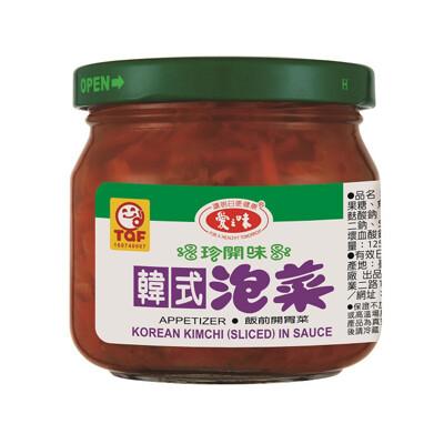 【免運直送】愛之味-韓式泡菜185g/罐【12罐/箱】 (7.7折)
