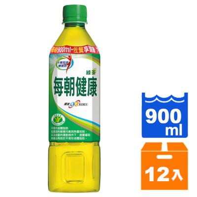 每朝健康綠茶900ml(12瓶/箱) -01 (8.3折)