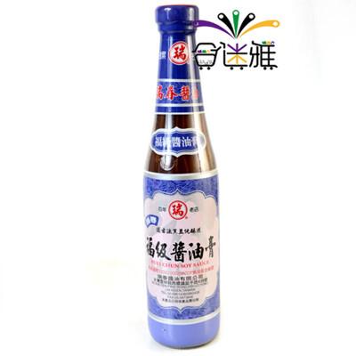 免運直送瑞春福級醬油膏(420ml/瓶)x6瓶 -01 (8折)