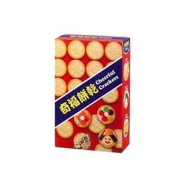 【免運直送】奇福餅乾(140g/盒)X3盒 -01 (9.5折)