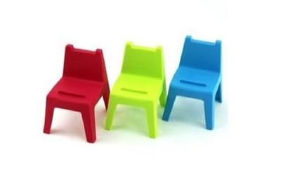 HOUSE 好室喵 學童椅 椅子造型 手機座 1組3入 (9.3折)