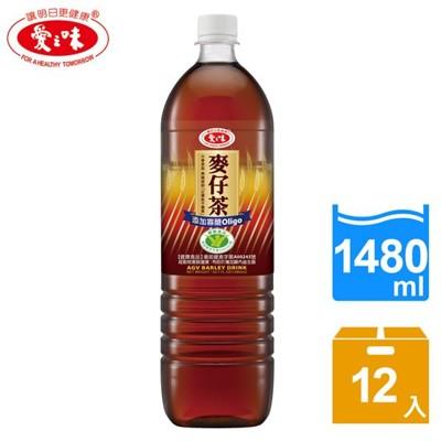 愛之味麥仔茶1480ml*12瓶/箱-01 (8折)