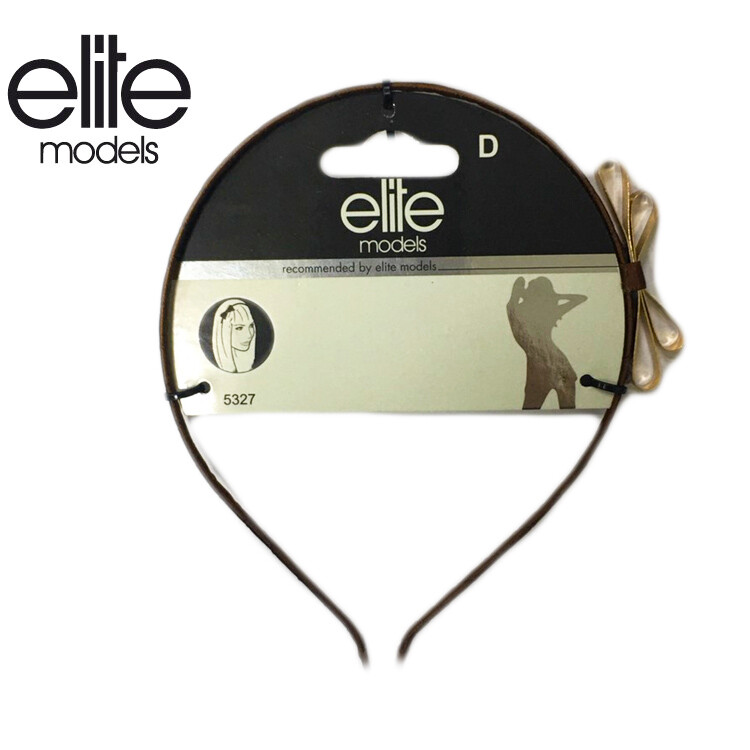olina法國elite 髮箍(蝴蝶結狀)-2入組