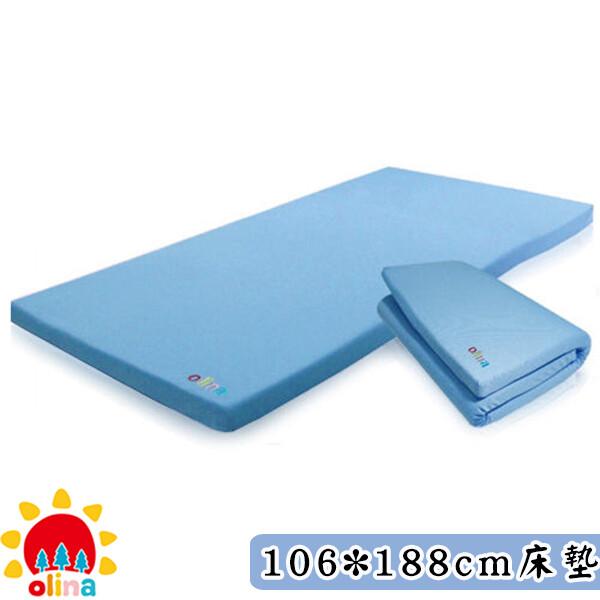 開學必備olinamit透氣防蹣3m單人加大記憶床墊涼感床套+日本高密度記憶棉106*188*5
