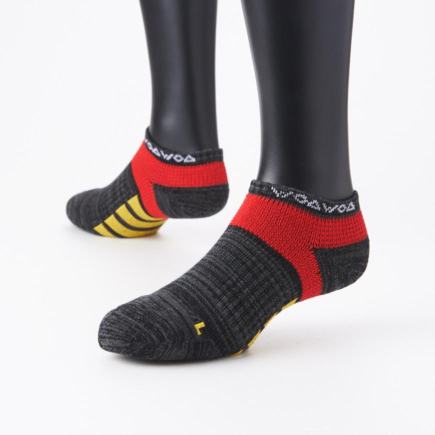 襪襪woawoa  彈繃包覆毛圈底運動襪-女 3色