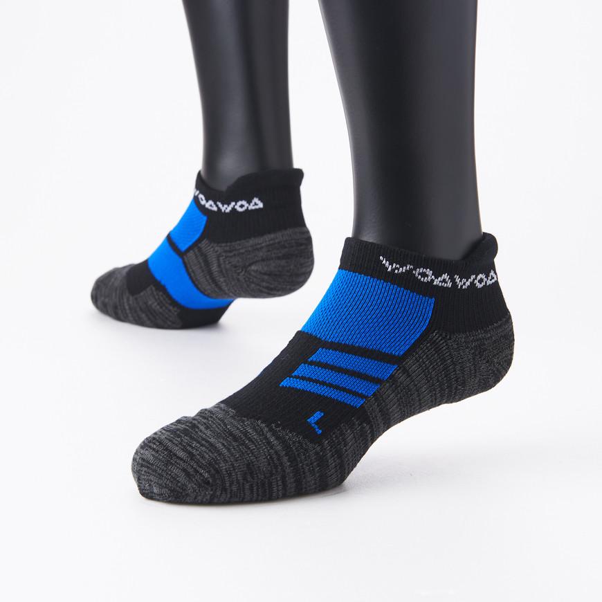 襪襪woawoa  跟腱防護毛圈底運動襪-男 2色