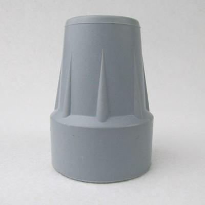 橡膠腳套 腳墊-孔徑2.05cm 高5.75cm 灰色 2個入 前臂拐杖 腋下拐杖台灣製FW-875 (8.2折)