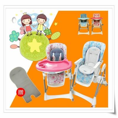 【EASY BABY】台灣製造-安全兒童餐椅(頂級豪華版)(升級四顆輪子)(加贈透氣涼墊)(破盤價) (4.7折)