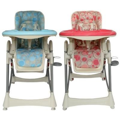 【EASY BABY】台灣製造-安全兒童餐椅(頂級豪華版)(藍/粉現貨)(升級四顆輪子)(破盤價) (4.7折)