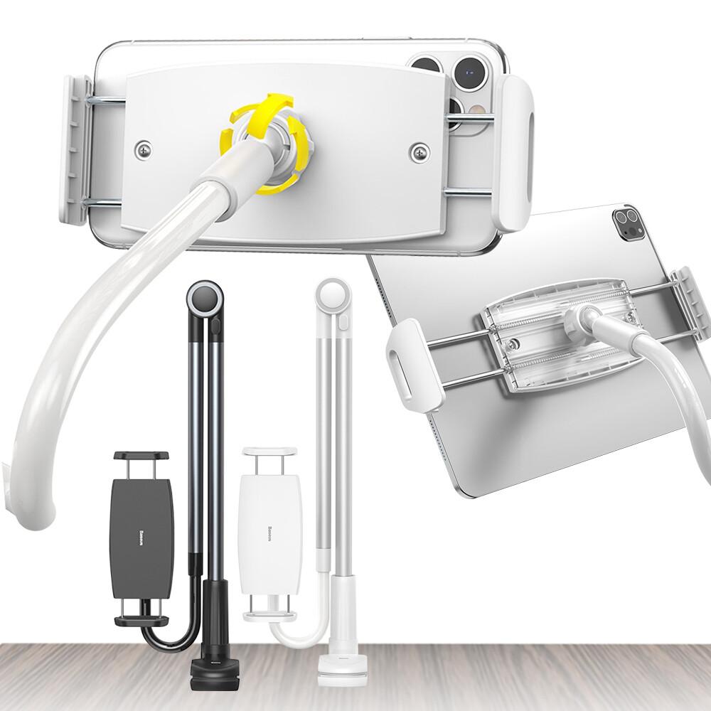 baseus 倍思 方便單手可用旋轉調節懶人支架 床頭支架 直播支架 手機支架 平板支架 手機架