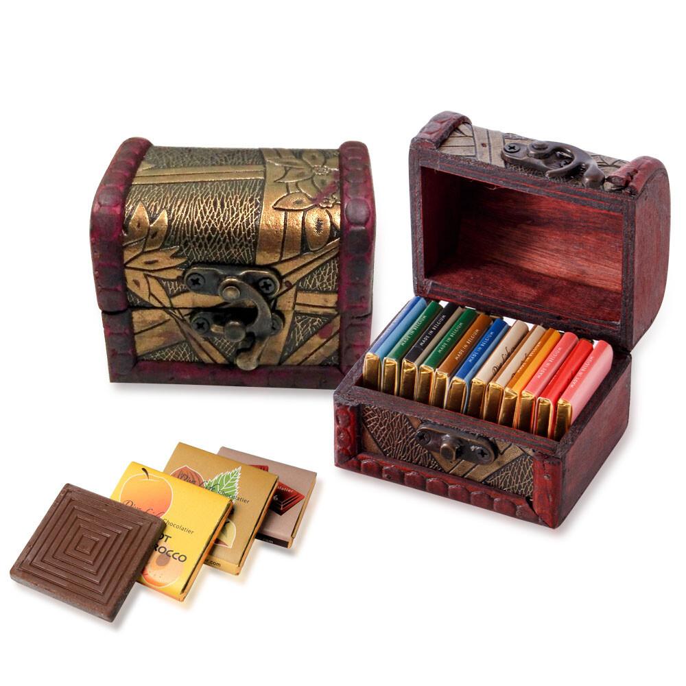 diva life   迷你珠寶盒(比利時巧克力片15入)