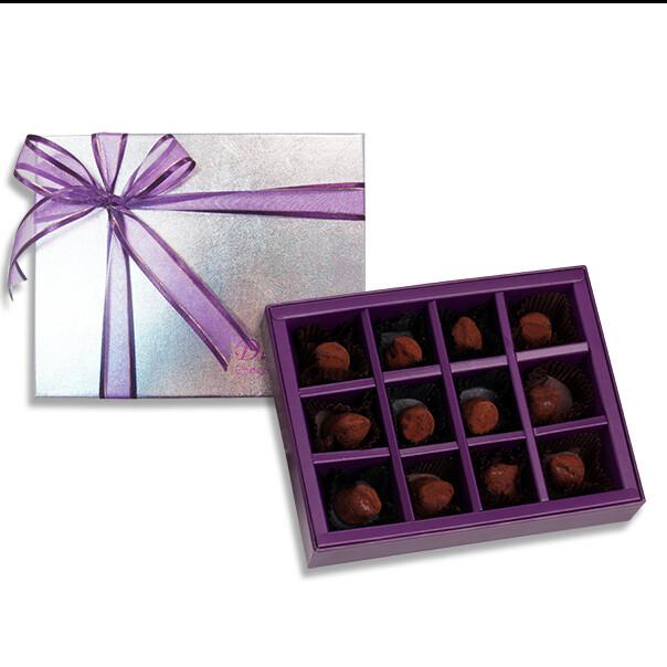 diva life   法式松露巧克力12入(經典禮盒)