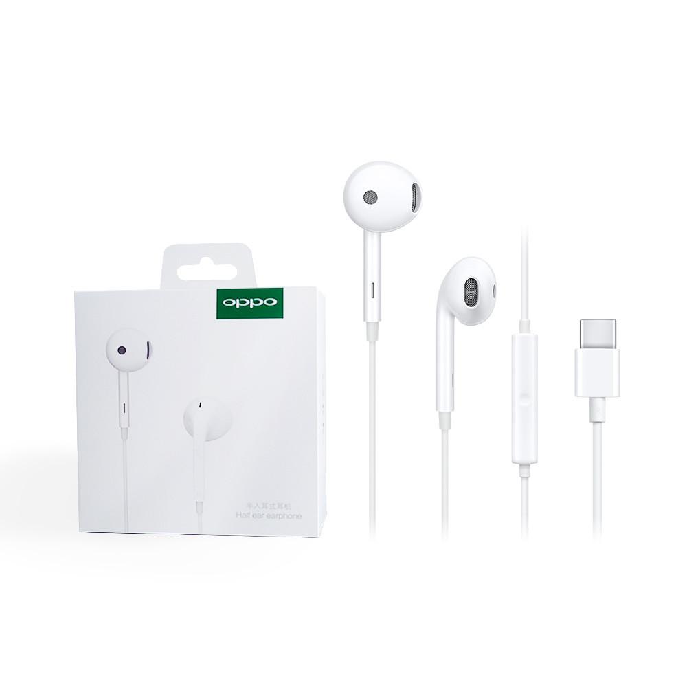 oppo 原廠 mh135 高品質半入耳式耳機 type-c接口/ 適用r17 pro(盒裝)