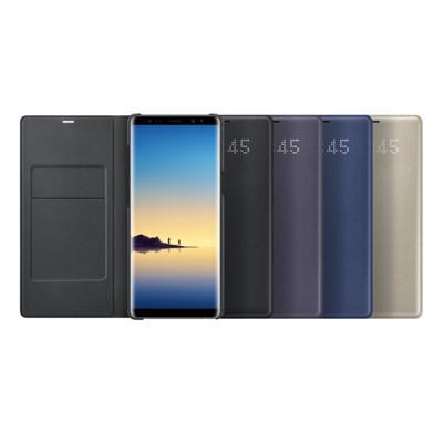 SAMSUNG Galaxy Note8 LED 原廠皮革翻頁式皮套(盒裝) (9.8折)