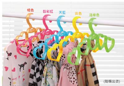 水晶果凍人字形圈圈衣架 (1.1折)