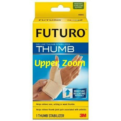 [uzkarma]美國 3M FUTURO 護腕 拇指支撐型 柔軟透氣舒適 抗菌防臭羽毛球 馬拉松指 (7.6折)