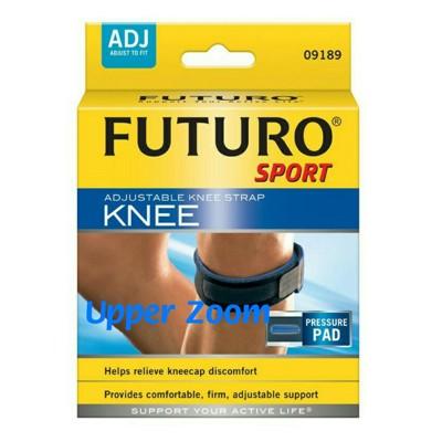 [uzkarma]美國 3M FUTURO 運動型護膝 可調式髕骨加壓帶 舒適度極佳 羽毛球 馬拉松 (7.7折)