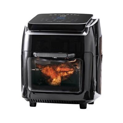 【鍋寶】鍋寶 LED智慧觸控面板 智慧多功能氣炸烤箱12L AF-1210BA (6.8折)